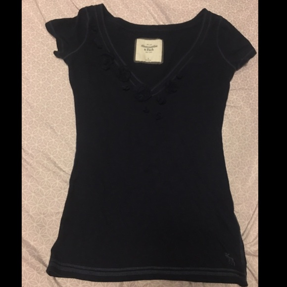 Abercrombie & Fitch Tops - Abercrombie & Fitch V-Neck Shirt